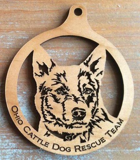 Laser-Engraved Wooden Ornaments