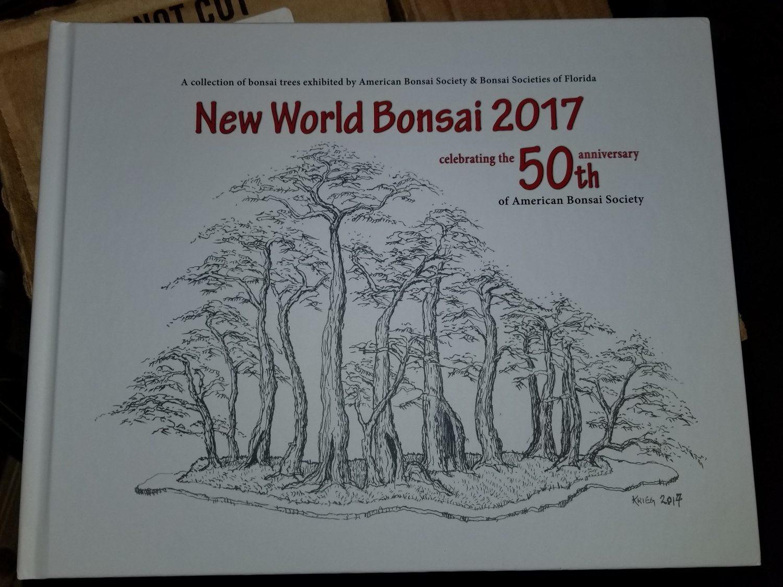 50th Anniversary New World Bonsai Book