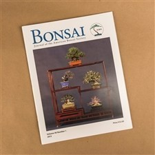 Bonsai Journal of the ABS: 2012 – Vol. 46 No. 1