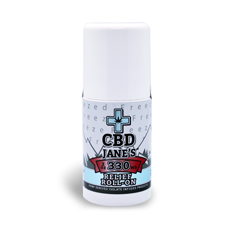 2oz CBD Relief Roll On | 330mg CBDHEMP Extract