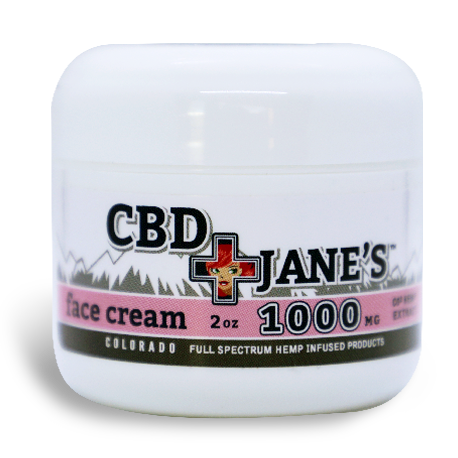 2oz CBD Face Cream | 1000mg CBD