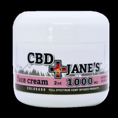 2oz CBD Face Cream | 1000mg CBDHEMP Extract
