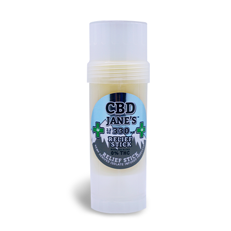 2.2oz CBD Relief Stick | 330mg CBD