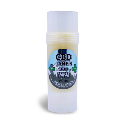2.2oz CBD Relief Stick | 330mg CBDHEMP Extract