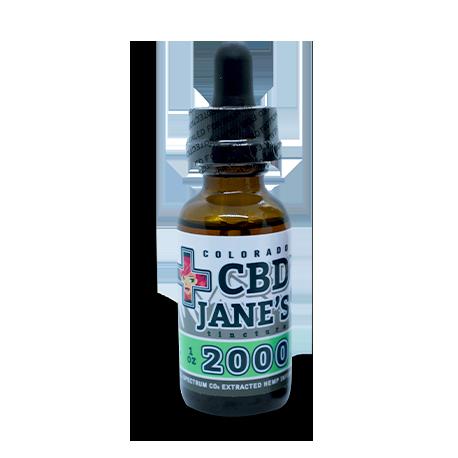 1oz CBD Full Spectrum Tincture |  2,000mg CBD