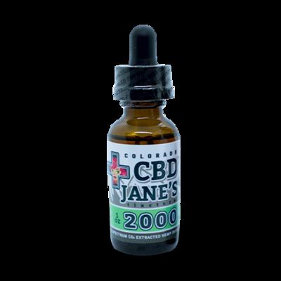 1oz CBD Full Spectrum Tincture |  2,000mg CBDHEMP Extract