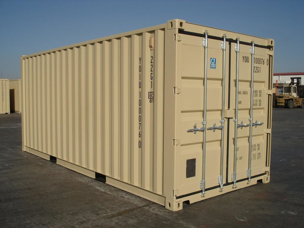 20ft New One Trip Shipping Container/Connex. Color may vary. CALL FOR PRICING!!!