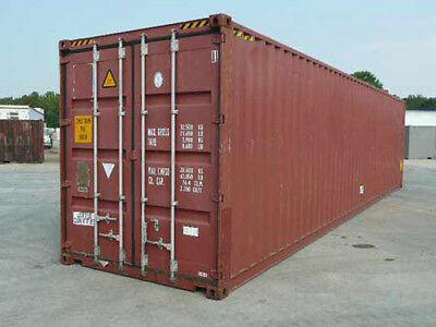 Used 40 FT High Cube Shipping Container/Conex Cube. Color & Condition may vary. CALL FOR PRICING!!!