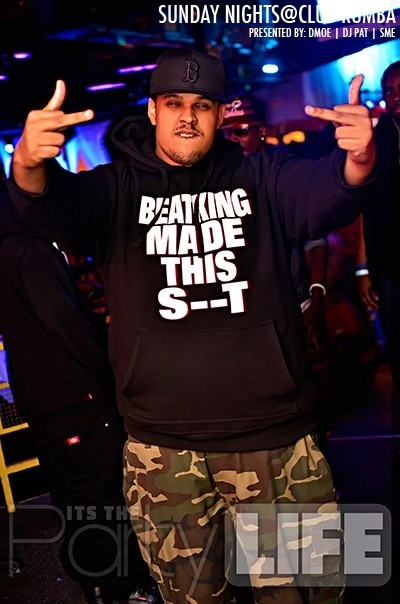 """BEATKING MADE THIS S--T"" - Hooded Sweatshirt"