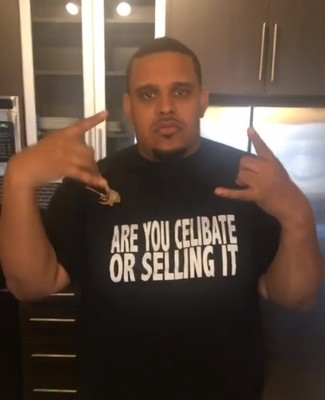 """""""ARE YOU CELIBATE OR SELLING IT"""" - T-Shirt"""