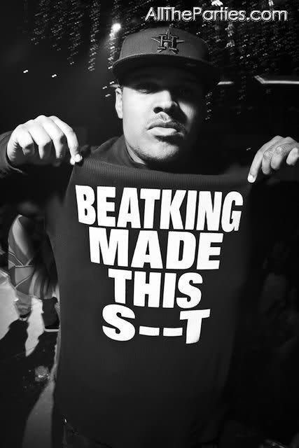 """BEATKING MADE THIS S--T"" - T-Shirt"