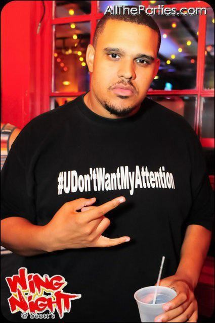 """#UDONTWANTMYATTENTION"" T-Shirt"
