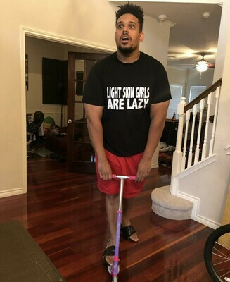 """LIGHTSKIN GIRLS ARE LAZY"" Short-Sleeve Unisex T-Shirt"