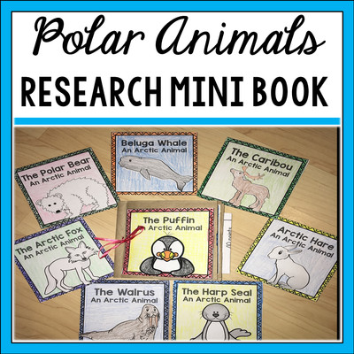 Polar Animals Paper Bag Book