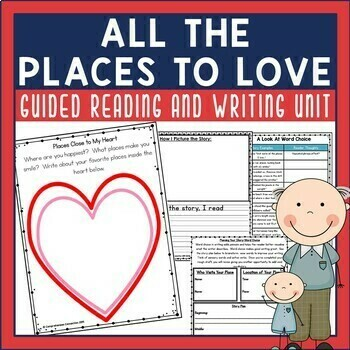 All the Places to Love Reading and Writing Unit