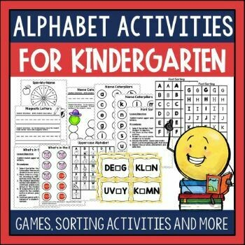 Alphabet Activities for Emergent Readers