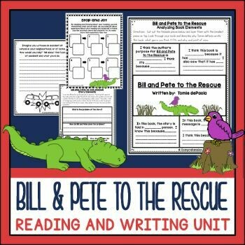 Bill and Pete to the Rescue Activities