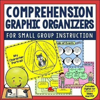 Comprehension Graphic Organizers