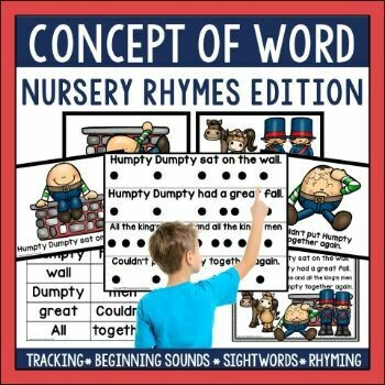 Concept of Word Nursery Rhymes Bundle