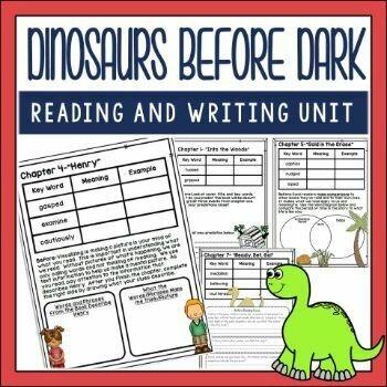Dinosaurs Before Dark Book Companion