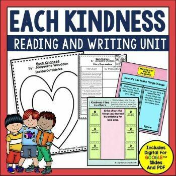 Each Kindness Book Activities