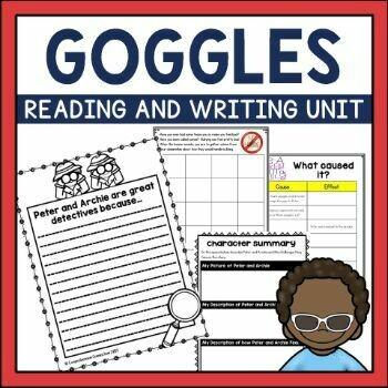 Goggles by Ezra Jack Keats Book Activities