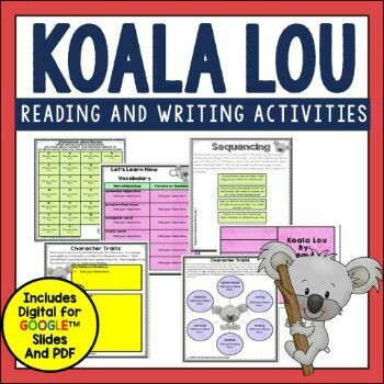Koala Lou Book Activities
