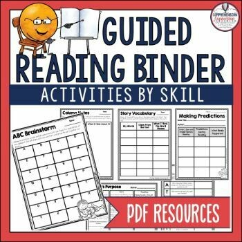 Guided Reading Binder (PDF)
