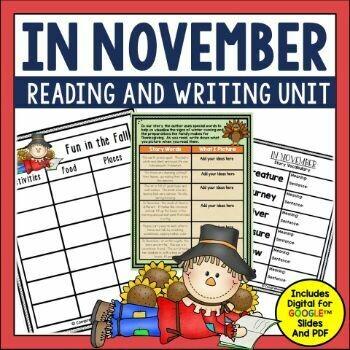 In November Book Activities