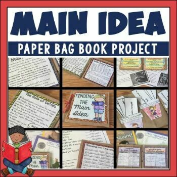 Main Idea Paper Bag Book