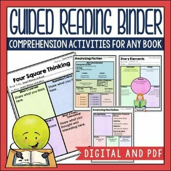 Guided Reading Binder in PDF and for Google Slides TM