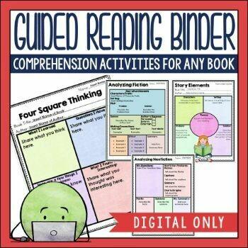 Guided Reading Binder for Google Slides TM