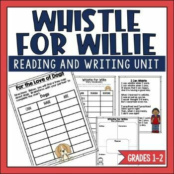 Whistle for Willie Book Activities