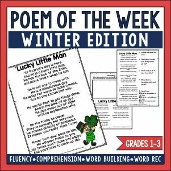 Poem of the Week Winter Edition
