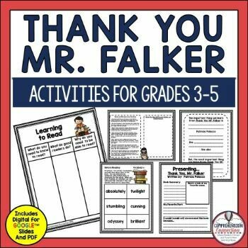 Thank You Mr. Falker Book Companion