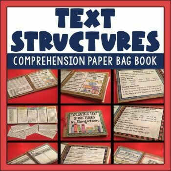 Nonfiction Text Structures Paper Bag Book