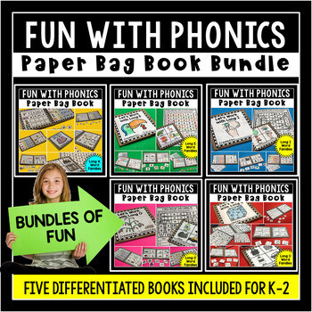 Long Vowel Paper Bag Book Bundle