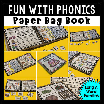 Long A Paper Bag Book for Primary