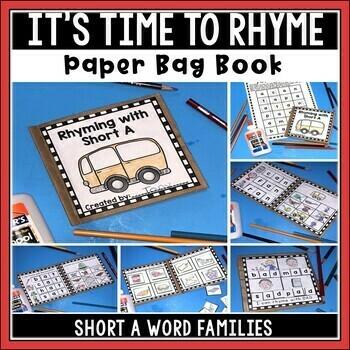Short A Paper Bag Book