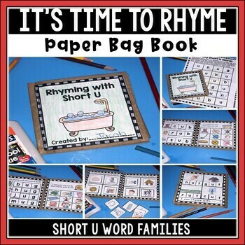 Short U Paper Bag Book