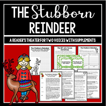The Stubborn Reindeer Partner Play