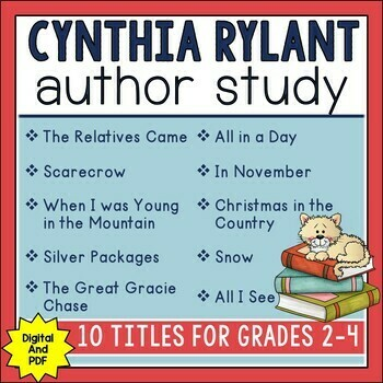Cynthia Rylant Author Study