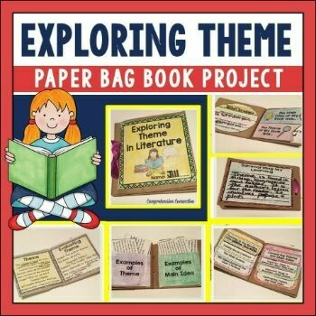 Exploring Theme Paper Bag Book