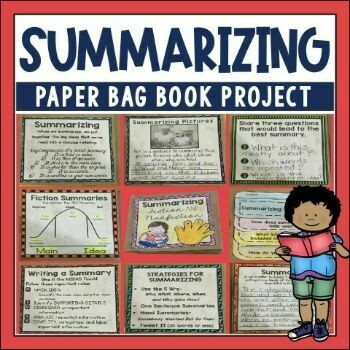 Summarizing Paper Bag Book for Comprehension