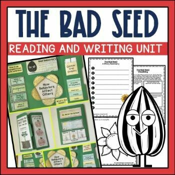 The Bad Seed Activities