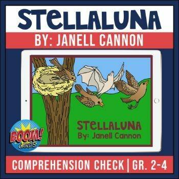 Stellaluna Boom Card Activities