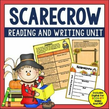 Scarecrow by Cynthia Rylant Book Activities