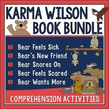 Karma Wilson Book Companion Bundle