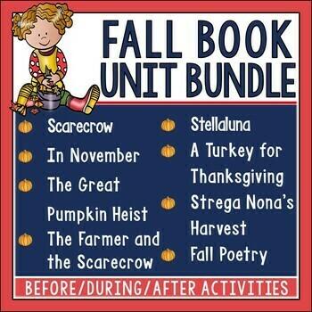 Fall Book Unit Bundle