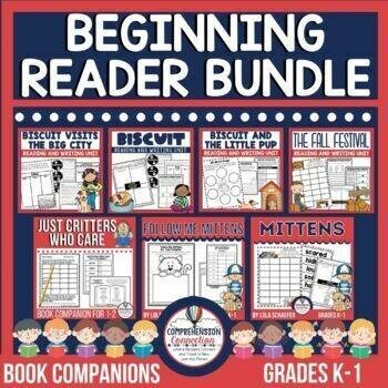 Beginning Reader Book Companion Bundle